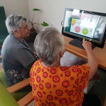A estimulação cognitiva faz parte da rotina diária dos utentes do Centro Paroquial de Grade