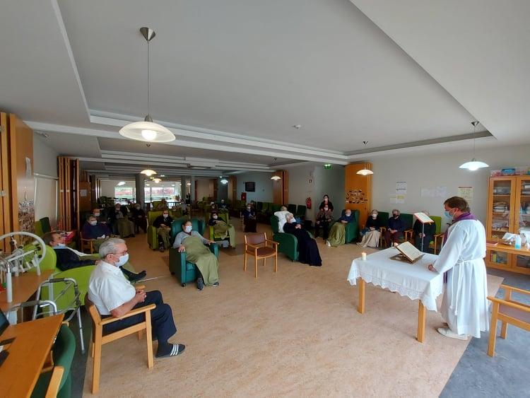 Eucaristica de celebração de Domingo de Ramos